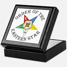 OES STAR LETTERED Keepsake Box