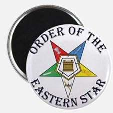 OES STAR LETTERED Magnet