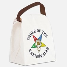 OES STAR LETTERED Canvas Lunch Bag