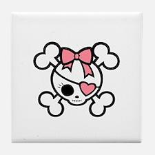 molly4-diva-pnk-DKT Tile Coaster