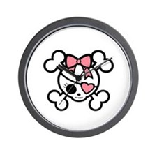 molly4-diva-pnk-DKT Wall Clock