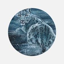 "Star Leopard 3.5"" Button"