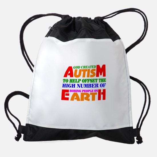 Autism Drawstring Bag