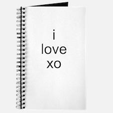 I Love xo Journal