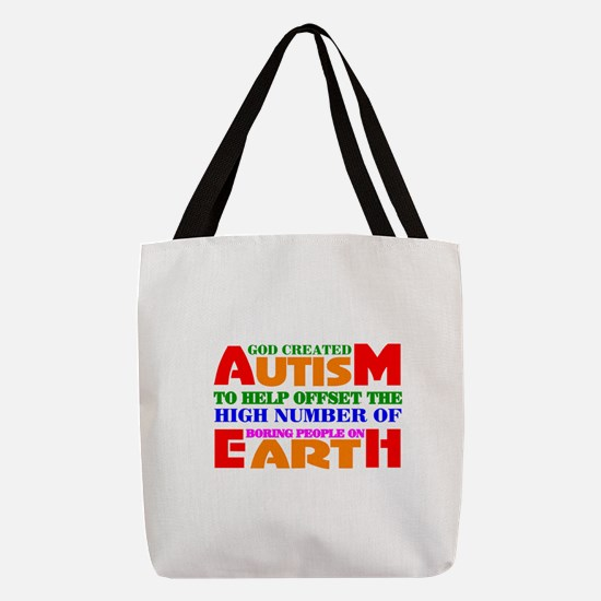 Autism Polyester Tote Bag