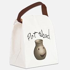 pot-head Canvas Lunch Bag