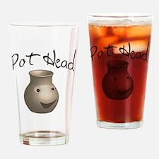 pot-head Drinking Glass
