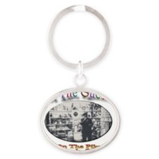 guesser Oval Keychain