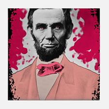 Pink_Linc_Laptop Tile Coaster