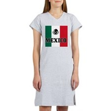 mexico-mousepad Women's Nightshirt
