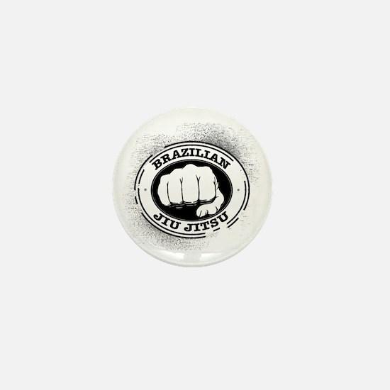 5 BJJ Mini Button