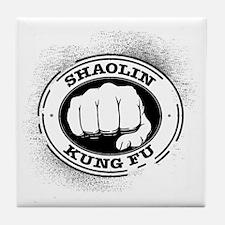 4 Shaolin Kung Fu Tile Coaster