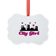 City-Girl Ornament