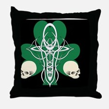 ErinGoth_Laptop_H Throw Pillow