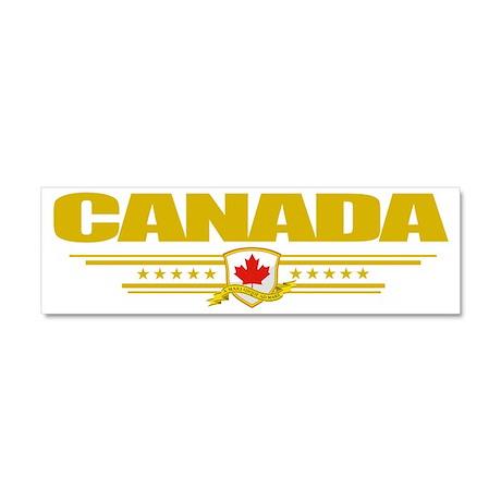 Canada (Flag 10) pocket Car Magnet 10 x 3