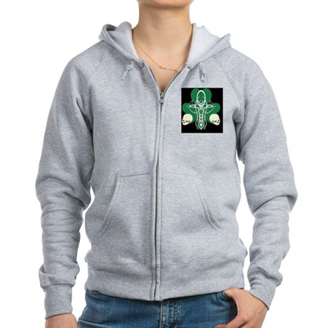 ErinGoth_LG_Vert Women's Zip Hoodie