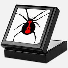Ukulele Spider Keepsake Box