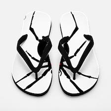 Ukulele Spider Flip Flops