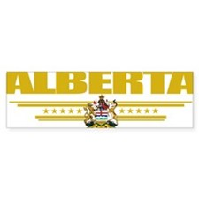 Alberta (Flag 10) pocket Bumper Sticker