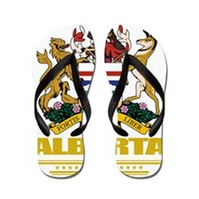 Alberta (Flag 10) Flip Flops