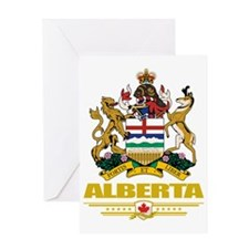 Alberta (Flag 10) Greeting Card
