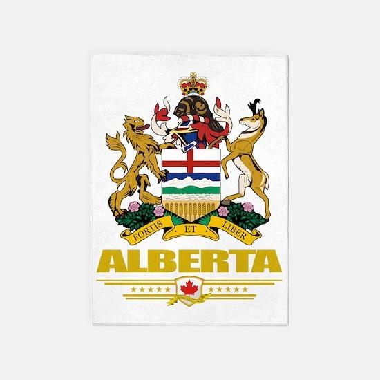 Alberta (Flag 10) 5'x7'Area Rug