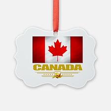 Canada (Flag 10) Picture Ornament