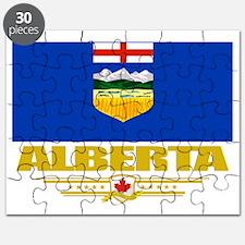 Alberta Flag (Flag 10) Puzzle