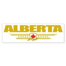 Alberta Flag (Flag 10) pocket Bumper Sticker