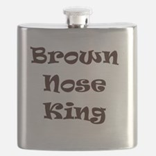 Brown nose Flask