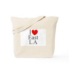 """I Love East L.A."" Tote Bag"