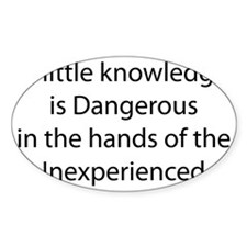 PT-Knowledge Decal