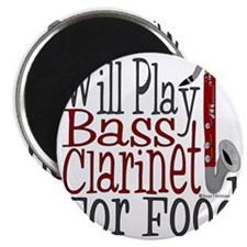 Will Play Bass Clarinet Magnet