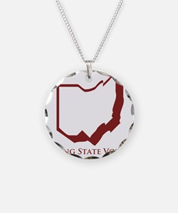 Swing State Voter Ohio Necklace