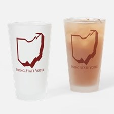 Swing State Voter Ohio Drinking Glass