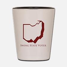 Swing State Voter Ohio Shot Glass