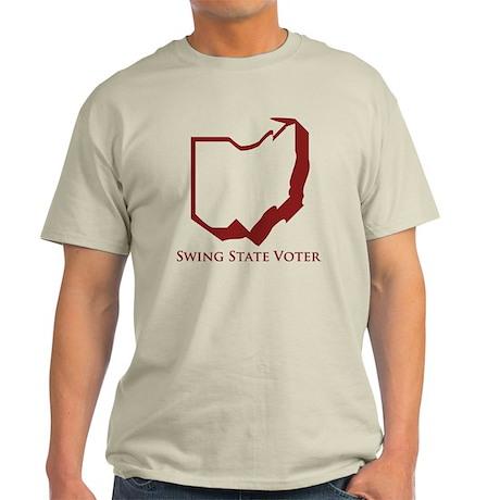 Swing State Voter Ohio Light T-Shirt