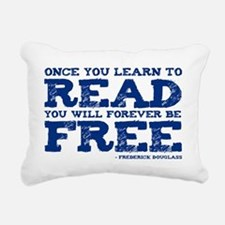 FOREVER FREE Rectangular Canvas Pillow