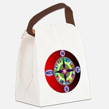 wcs compass 2 Canvas Lunch Bag