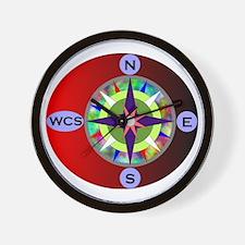 wcs compass 2 Wall Clock