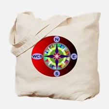 wcs compass 2 Tote Bag