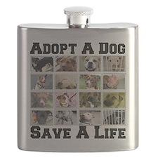 adoptadog_plate001 Flask