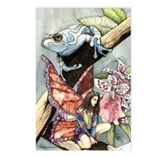 frogflowersfairy copy Postcards (Package of 8)
