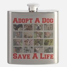 adoptadog_plate001_red_transparent2 Flask