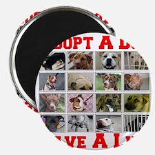 adoptadog_plate001_red_transparent2 Magnet