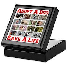 adoptadog_plate001_red_transparent2 Keepsake Box