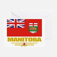 Manitoba Flag (Flag 10) Greeting Card