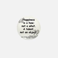 Hess Happiness Quote Mini Button