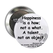 "Hess Happiness Quote 2.25"" Button"