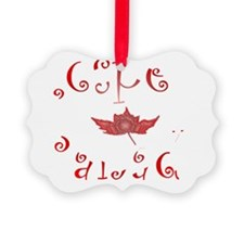 Respect Canada Ornament